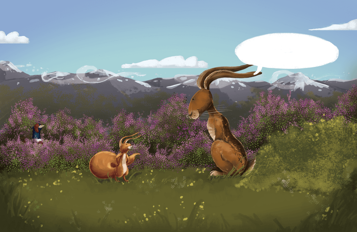 Rowena Aitken Illustration | Children's Books | Ruan Mountains
